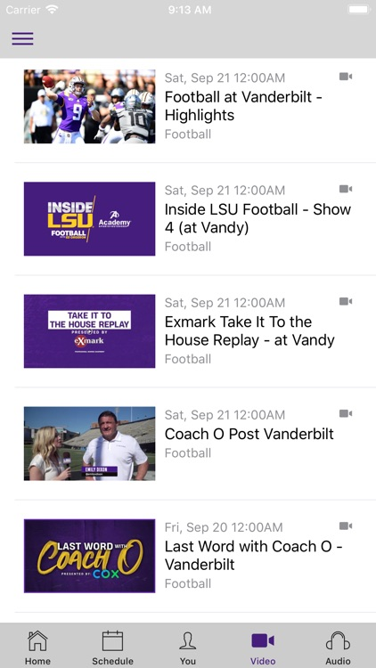 LSU Sports Mobile screenshot-3