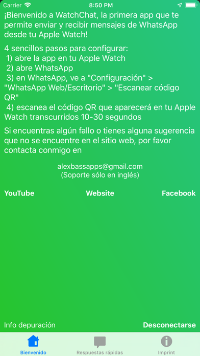 Screenshot for WatchChat para WhatsApp in Peru App Store