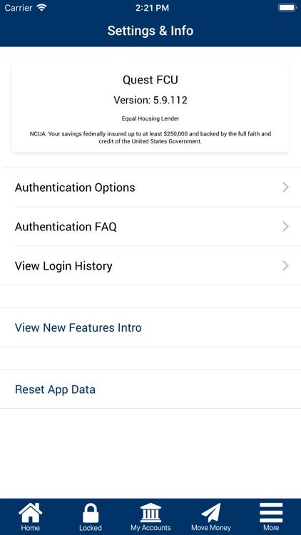 Quest FCU Mobile screenshot-3