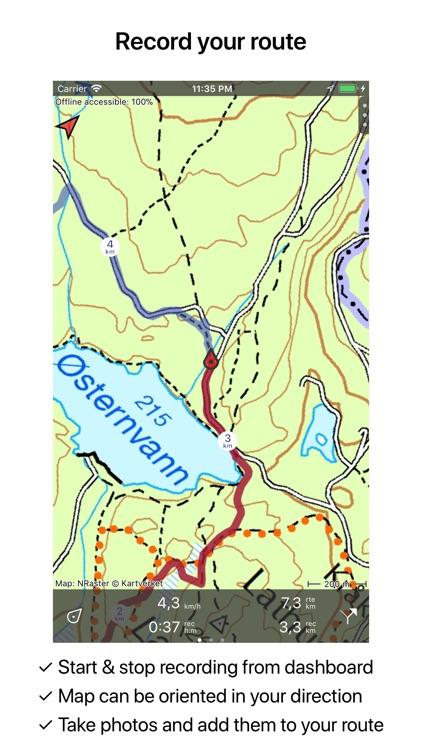 Topo GPS Norway screenshot-3