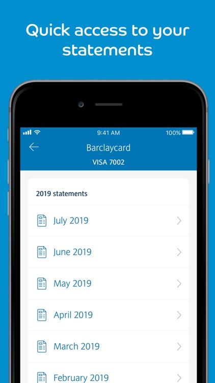 Barclaycard screenshot-4