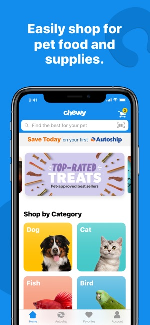 Chewy - Where Pet Lovers Shop on the App Store
