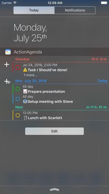 ActionAgenda screenshot-4