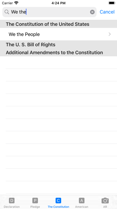 our Constitution screenshot 7