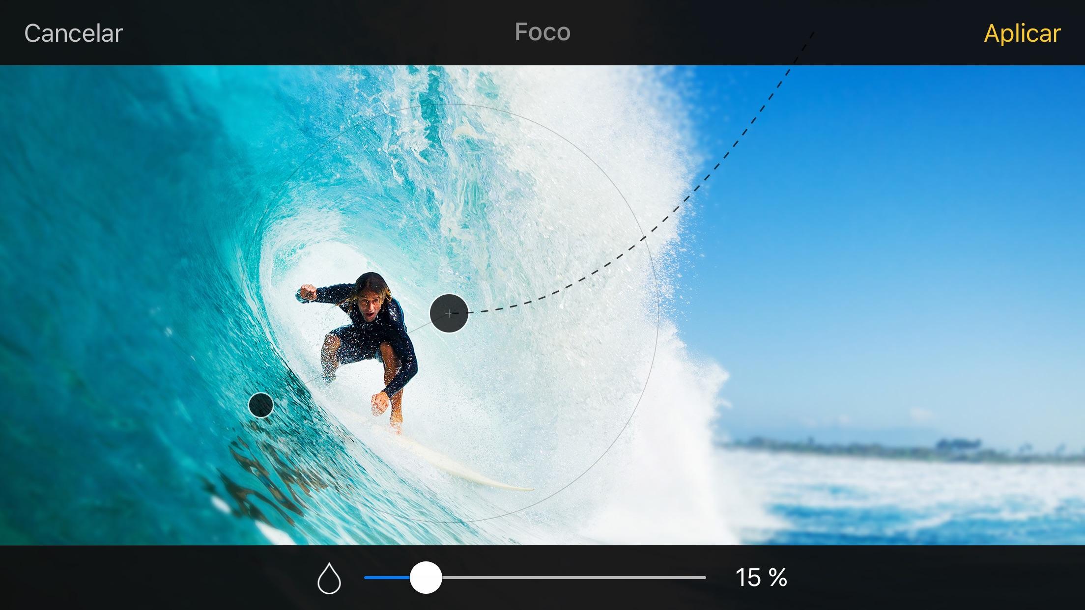 Screenshot do app Pixelmator