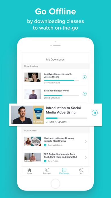 Skillshare - Online Learning app image