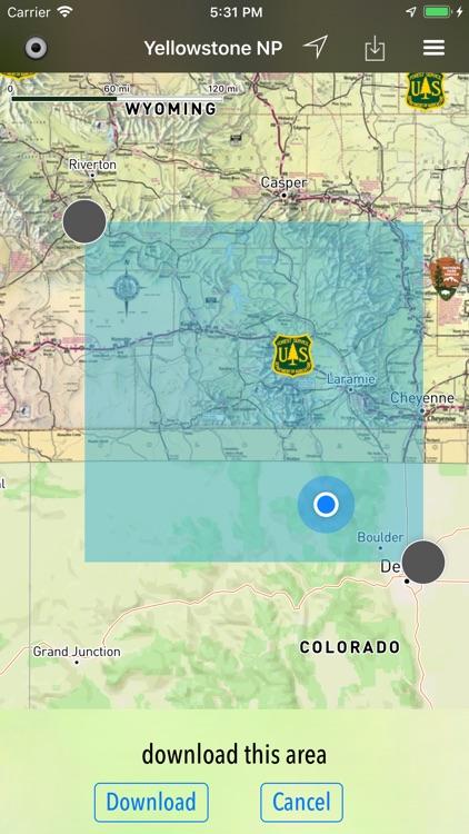Wyoming Pocket Maps screenshot-5