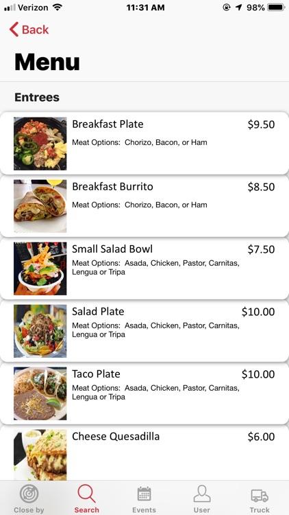 mFood™ - Food Truck Finder App screenshot-7