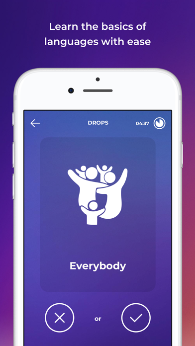 Screenshot for Drops: Language Learning in United States App Store