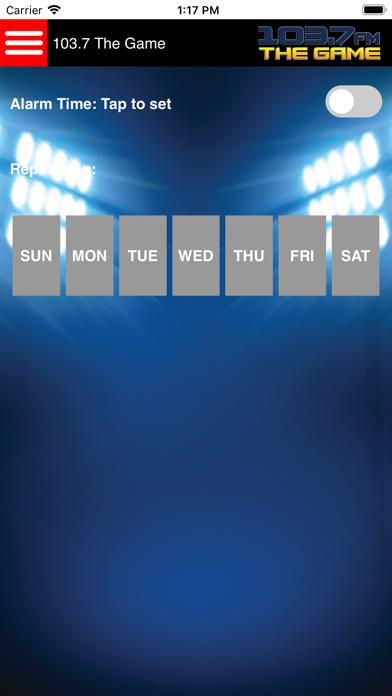 KLWB 103.7 The Game screenshot three
