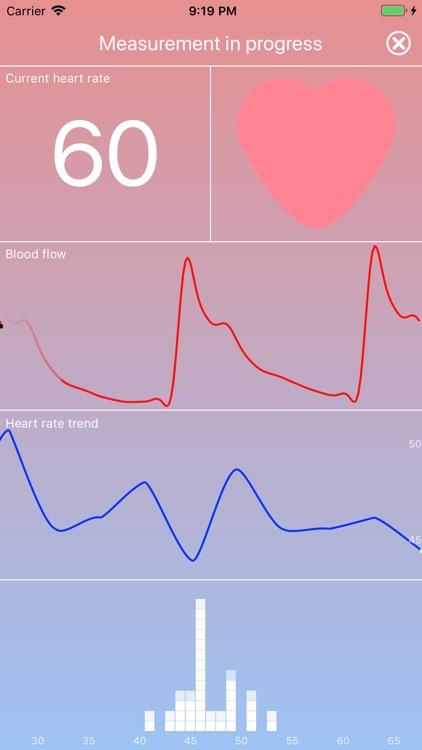 HEARTshape - Pulse and Fitness screenshot-0