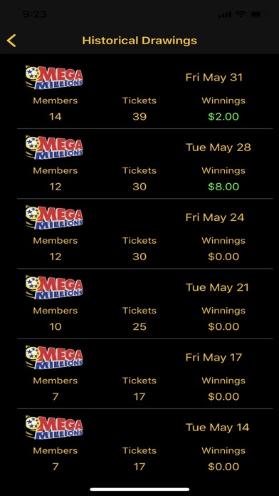 Lotto Manager Ticket Scanner screenshot 3