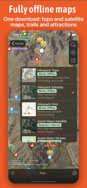 Hikepack: Clever Hiking Maps on the App Store