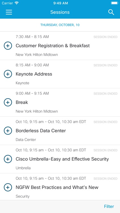 Cisco Events App screenshot-3