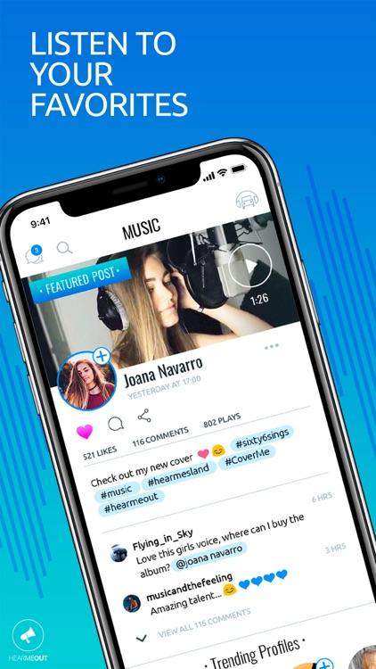 HearMeOut-Voice Social Network
