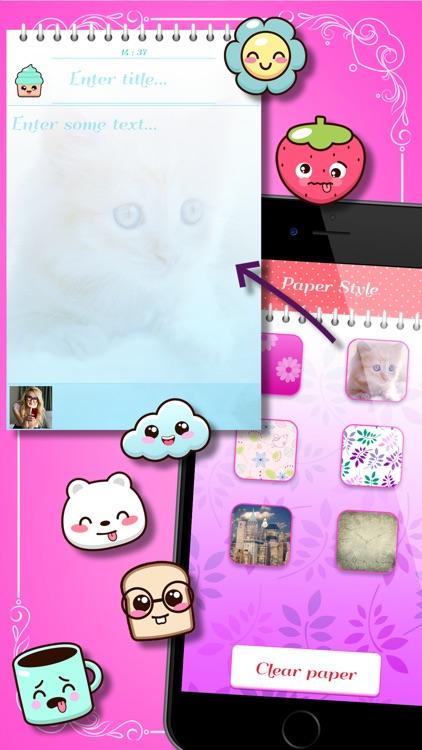 Talia: Secret Diary Notes screenshot-4