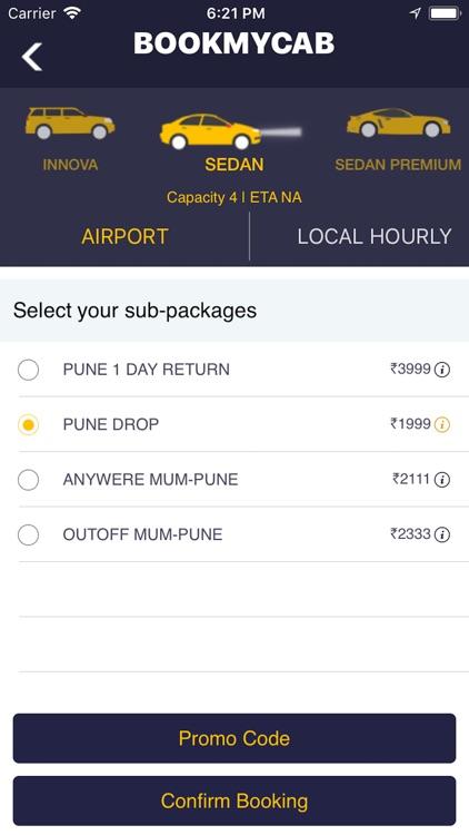 Bookmycab - Taxi & Car Rental screenshot-3