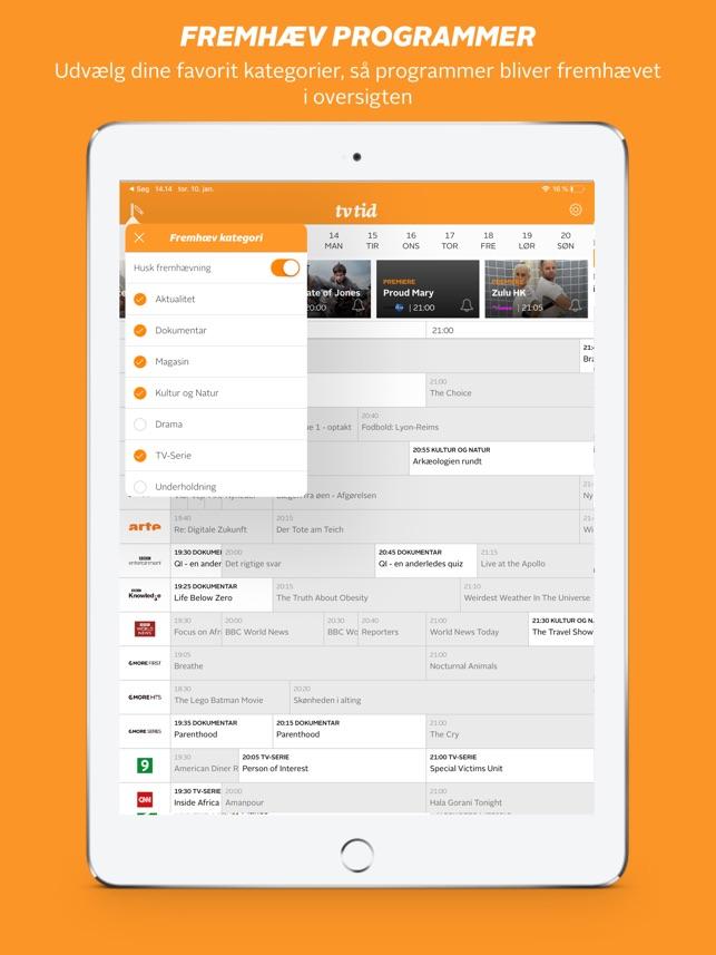 462ad9d8  tvtid – Dansk Tv-guide i App Store