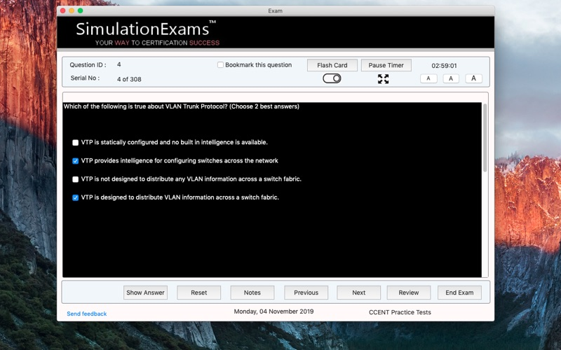 SE CCENT Practice Tests for Mac