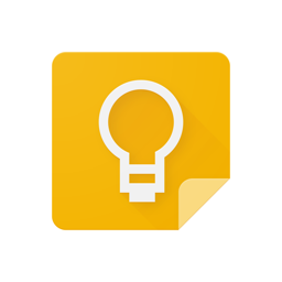 Ícone do app Google Keep: notas e listas
