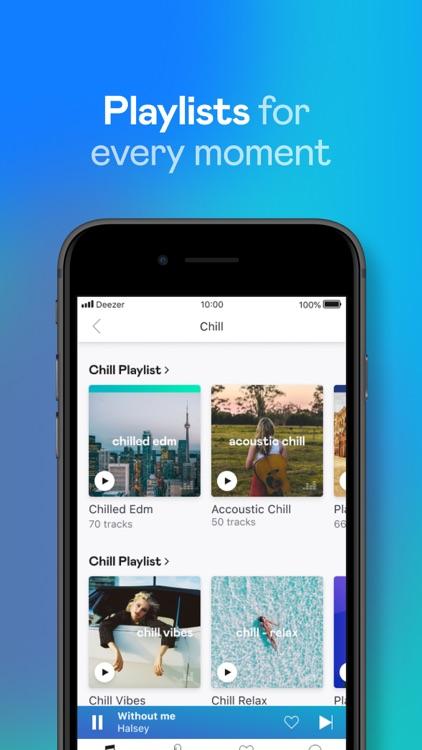 Deezer: Music & Podcast Player screenshot-3