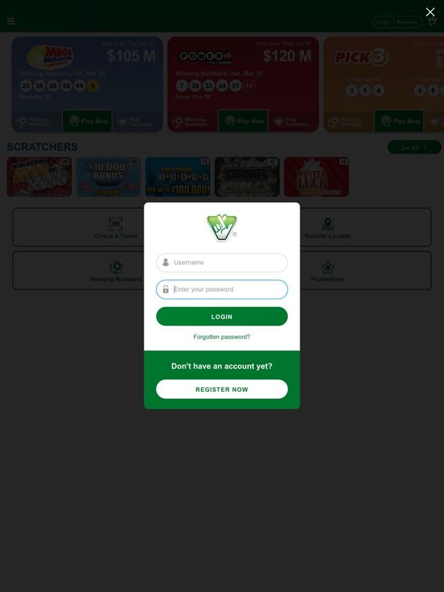 Va Lottery Ticket Scanner App