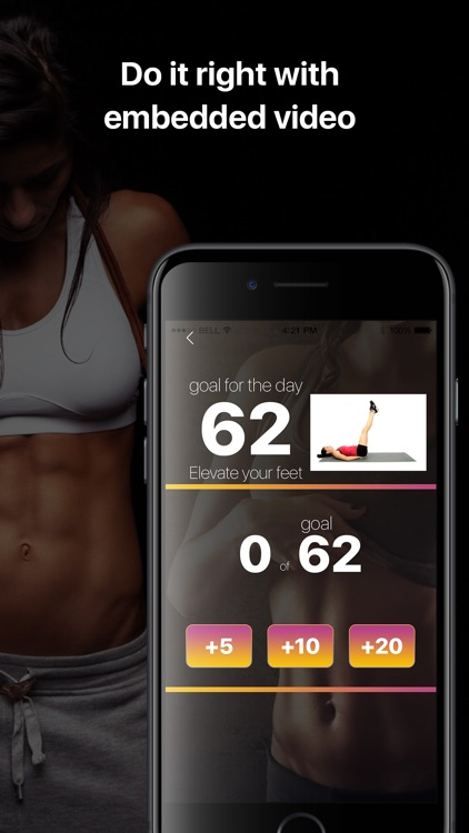 ABS training for 30 days! screenshot-3