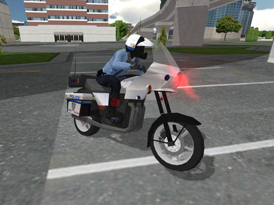 Police Motorbike Simulator 3Dのおすすめ画像7