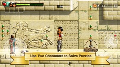 Screenshot from Babylonian Twins Platformer