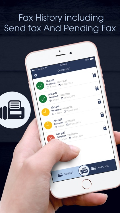 Fax App : Document Scanner