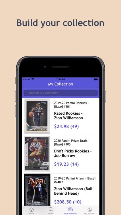 Tarjeta - Sports Card App