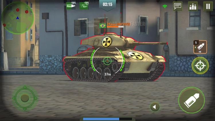 War Machines: 3D Tank Game screenshot-8