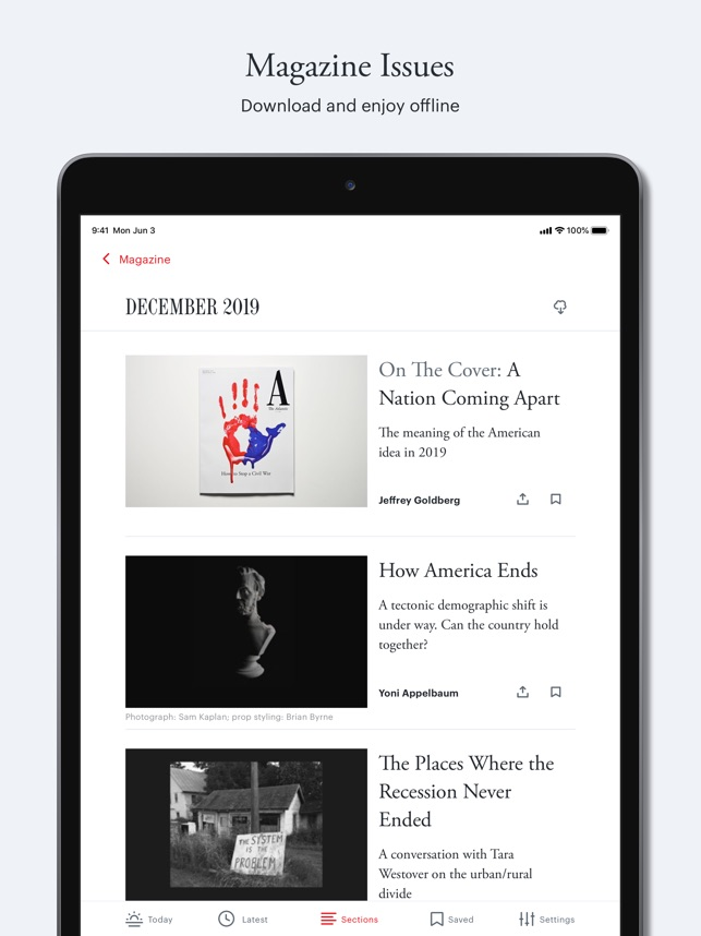 The Atlantic Magazine On The App Store