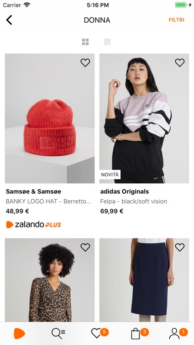 Screenshot for Zalando - Moda e shopping in Italy App Store