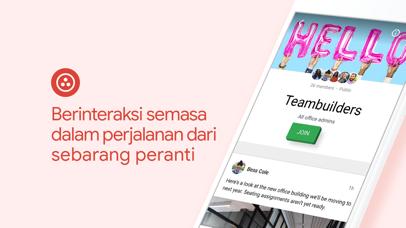 Screenshot for Google+ untuk G Suite in Malaysia App Store