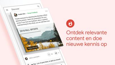 Screenshot for Google+ voor G Suite in Netherlands App Store