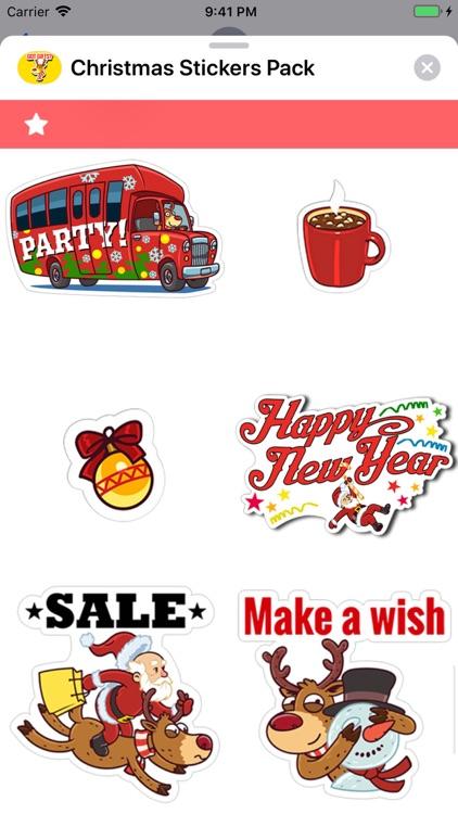 Christmas Stickers Pack ! screenshot-6