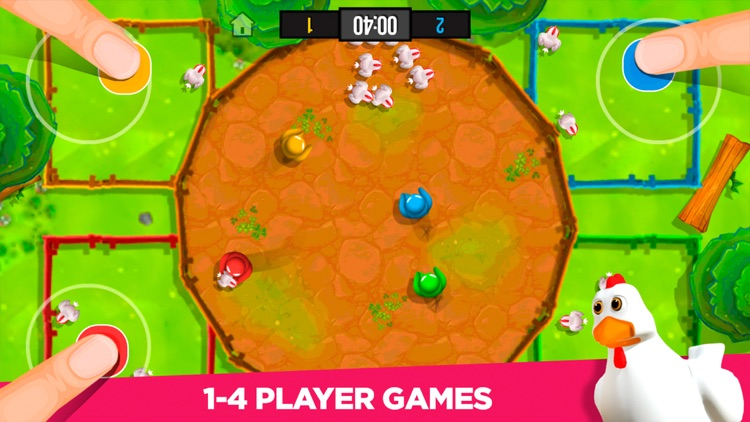 Stickman Party: 4 player games