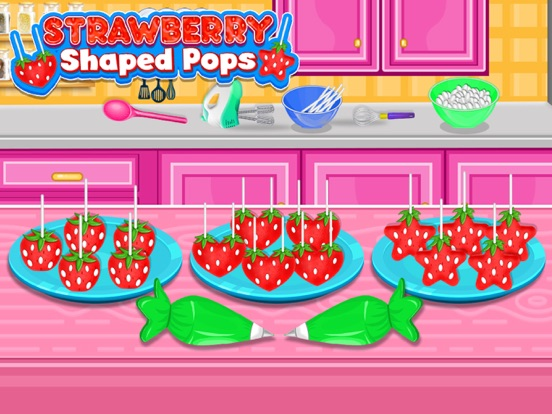 Strawberry Pops Cooking Games screenshot 6