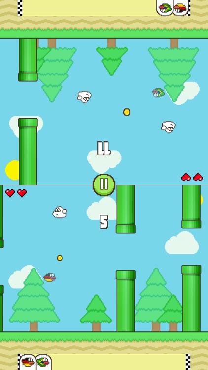 Flappy Family Bird Arcade screenshot-7