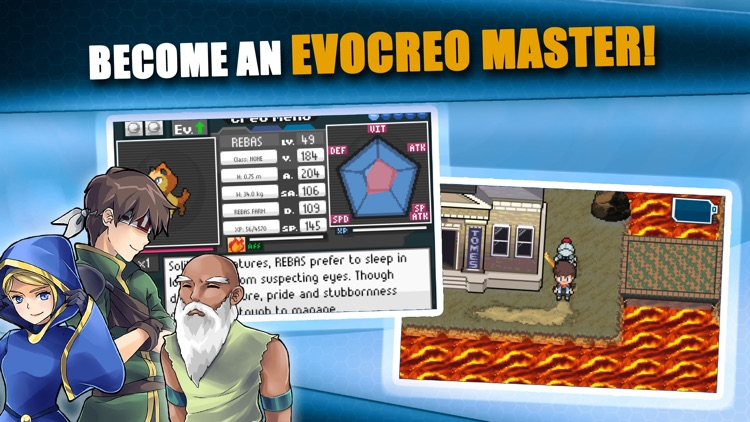 EvoCreo™ - Pocket Monsters RPG screenshot-5