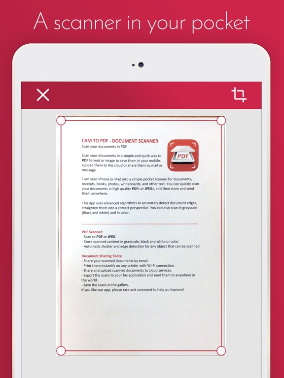 Cam to PDF - Document Scanner | App Price Drops