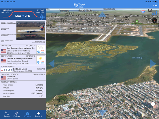 SkyTrack - The Flight Tracker-ipad-2