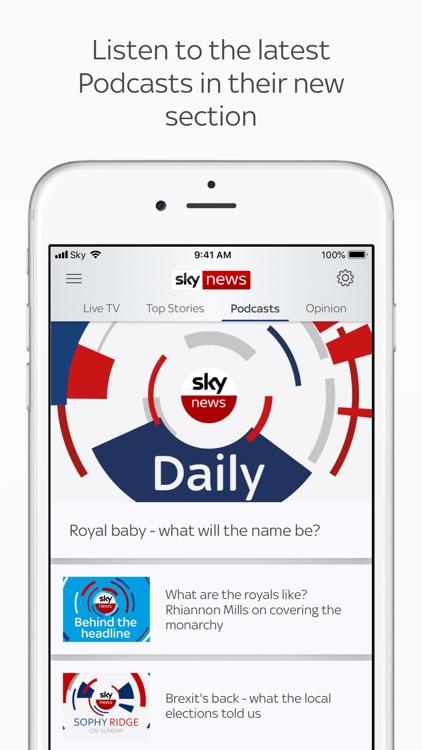 Sky News: Breaking, UK & World