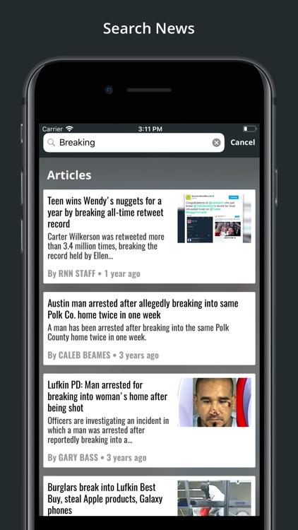 KTRE 9 Local News screenshot-3