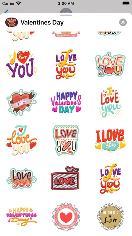 Happy Valentines Day Frames IM