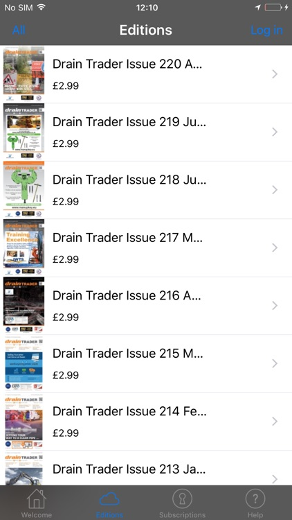 Drain Trader Magazine screenshot-1
