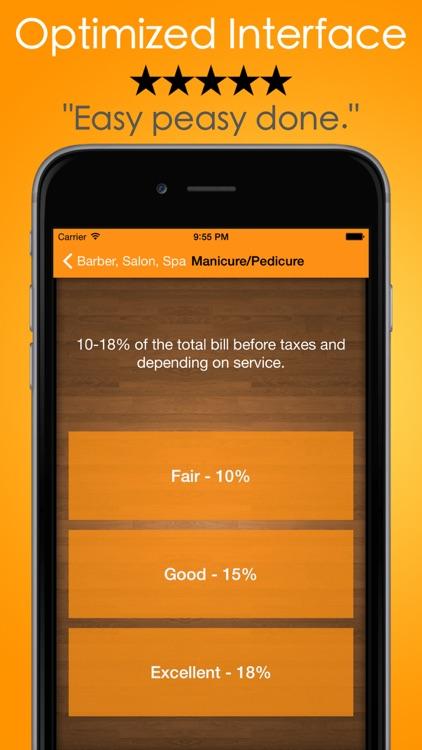 Tip Check - Calculator & Guide screenshot-3
