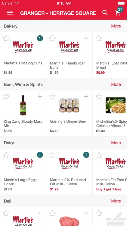 Martin's Groceries To Go screenshot-0