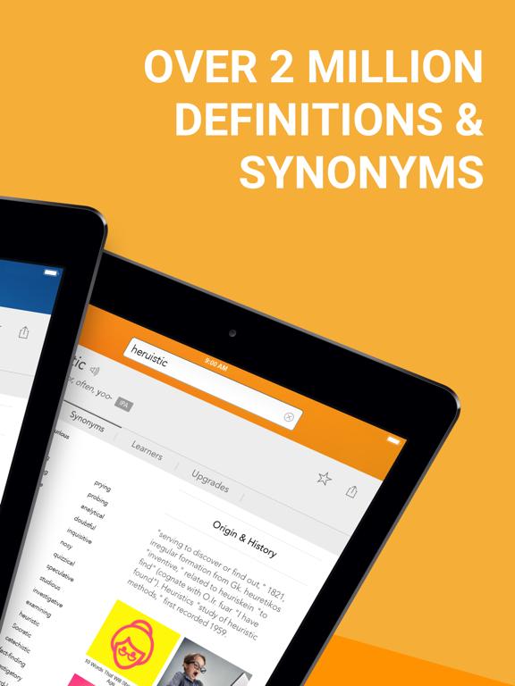 Dictionary.com for iPad Screenshot 1